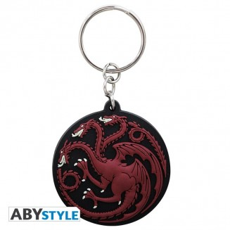 "GAME OF THRONES - Porte-clés PVC ""Targaryen"""
