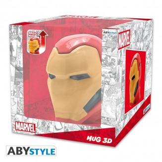 MARVEL - Mug 3D - Heat Change - IRON MAN