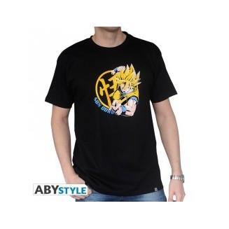 "DRAGON BALL - Tshirt ""DBZ/ Goku Super Saiyan"" homme MC Noir"