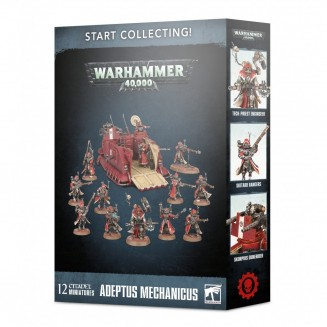 W40K : Start Collecting - Adpetus Mechanicus