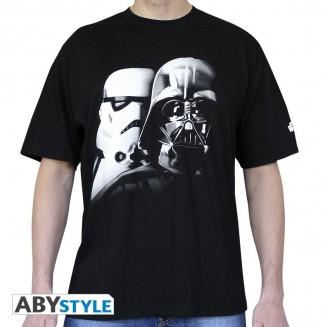 "STAR WARS - Tshirt ""Vador-Troopers"" homme MC black"