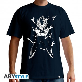 "DRAGON BALL - Tshirt ""DBZ/Vegeta"" homme MC navy"