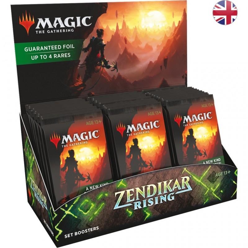 Magic The Gathering : Boite de 30 Boosters d'Extension Renaissance de Zendikar