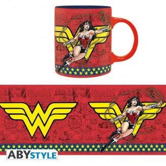 DC COMICS - Mug - 320 ml - Wonder Woman Action