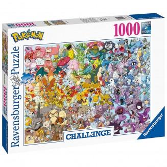 RAVENSBURGER - Puzzle -1000p : Pokémon