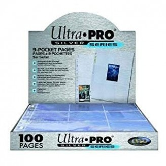 Ultra Pro - Pocket Pages Silver Series