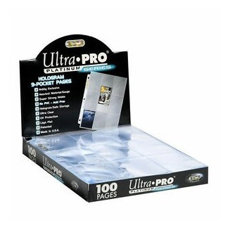 Ultra Pro - Pocket Pages Platinum Series