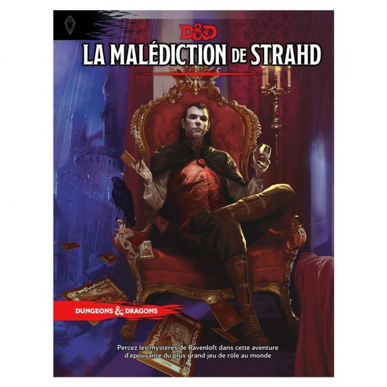 Dungeons & Dragons 5e Éd. : La Malédiction de Strahd