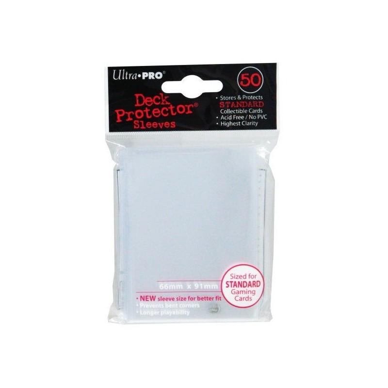 Ultra Pro - Proteges Cartes Transparents X50