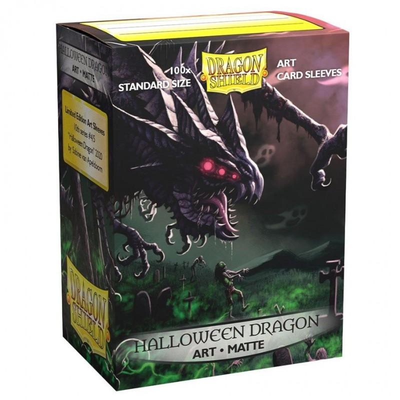 Dragon Shield Matte : 'Halloween Dragon' 2020