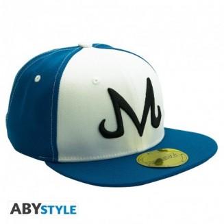 DRAGON BALL - Casquette snapback- Bleu & Blanc - Majin
