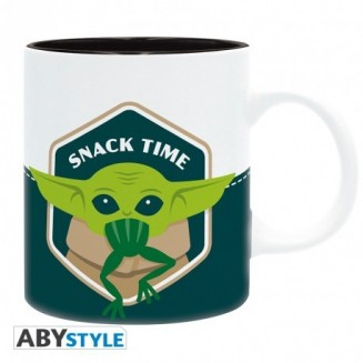 THE MANDALORIAN - Mug - 320 ml - Bébé Yoda Grenouille