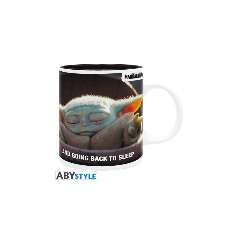 THE MANDALORIAN - Mug - 320 ml - Bébé Yoda meme