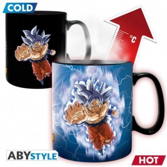 DRAGON BALL SUPER - Mug Heat Change - 460 ml Goku vs Jiren