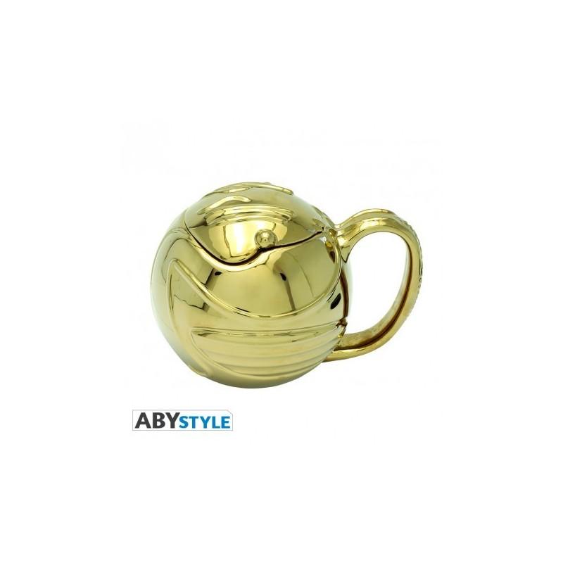 HARRY POTTER - Mug 3D - Vif d'or