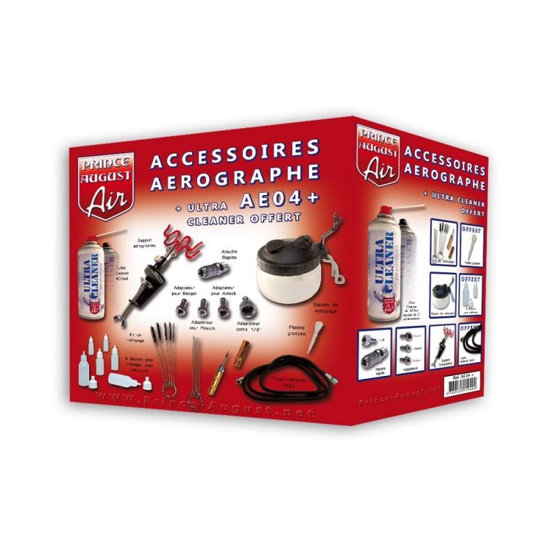 Optimum Accessoires Aérographe + Ultra Cleaner