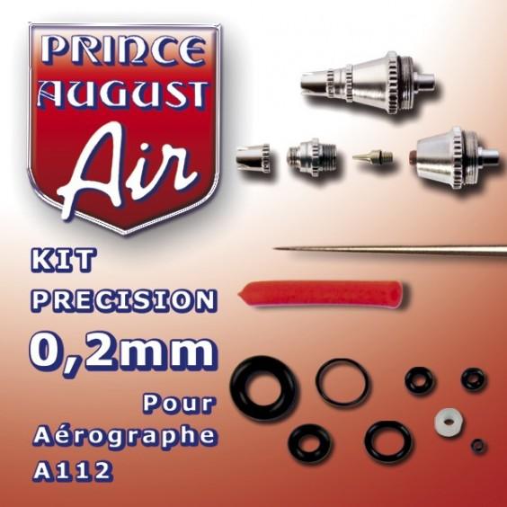 Kit de précision 0.2mm pour aérographe A112