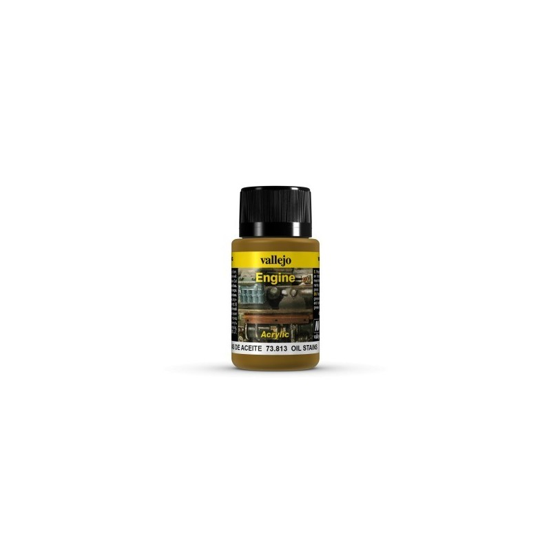 Effet moteur taches d'huile