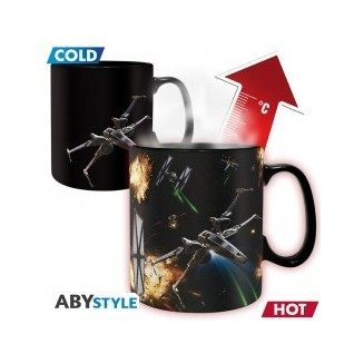 STAR WARS - Mug Heat Change - 460 ml - Space Battle