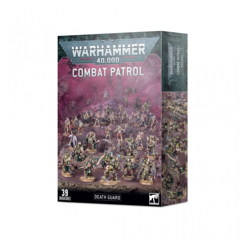 W40K :Chaos Space Marine - Death Guard Combat Patrol