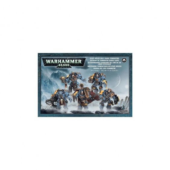 W40K : Adeptus Astartes Space Wolves - Wolf Guard Terminators