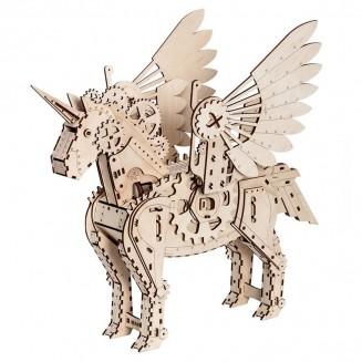 Licorne - maquette 3D mobile en bois