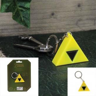 ZELDA - Porte-clef Lumineux Logo Triforce