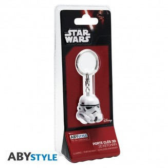 "STAR WARS - Porte-clés 3D ABS ""Trooper"""