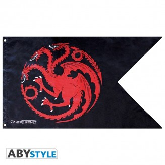 "GAME OF THRONES - Drapeau ""Targaryen"" (70x120)"