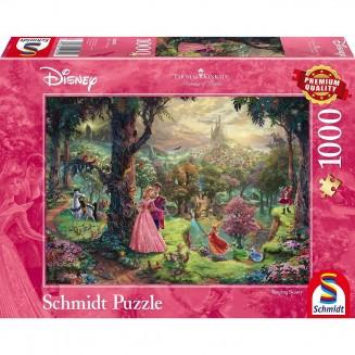 Puzzle Disney - Sleeping Beauty - Thomas Kinkad - 1000