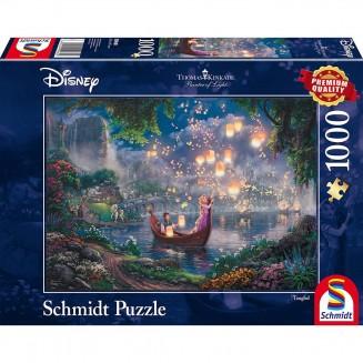 Puzzle Disney - Tangled - Thomas Kinkad - 1000