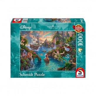 Puzzle Disney - Peter Pan's Never Land - Thomas Kinkad - 1000