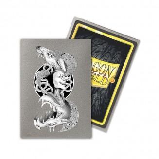 Dragon Shield - 100 Matte Art Silver Sleeves - Loki