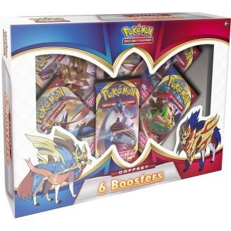 Pokémon: Coffret 6 boosters 2021 Épée et Bouclier