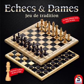 Échecs & Dames - Jeu de...