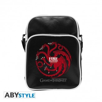 "GAME OF THRONES - Sac Besace ""Targaryen"" - Vinyle Petit Format"