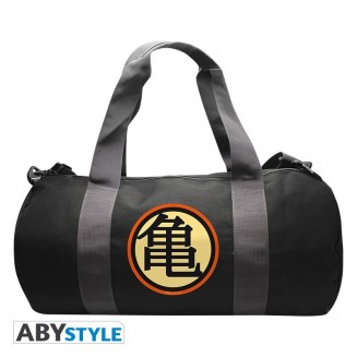 "DRAGON BALL - Sac de sport ""DBZ/ Kame Symbol""-Grey/Black"