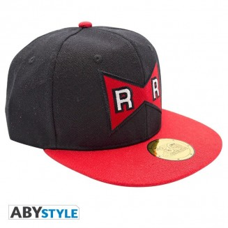 DRAGON BALL - Snapback Cap - Noir & Rouge - Red Ribbon