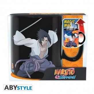 NARUTO SHIPPUDEN - Mug Heat Change - 460 ml - Duel