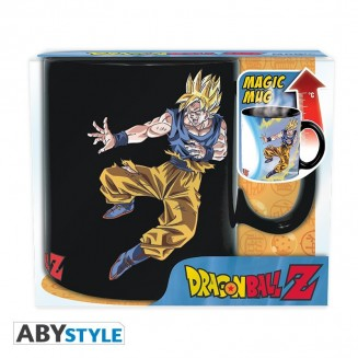 DRAGON BALL - Mug Heat Change - 460 ml - DBZ/ Goku VS Buu
