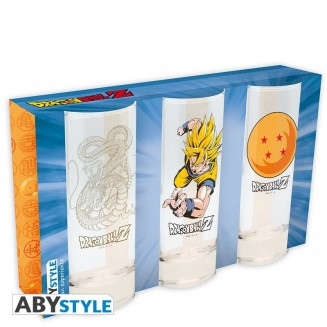 DRAGON BALL - Set de 3 verres
