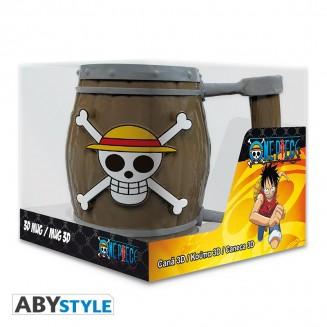 ONE PIECE - Mug 3D - Tonneau