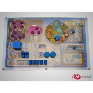 e-Raptor Organizer compatible with Terra Mystica