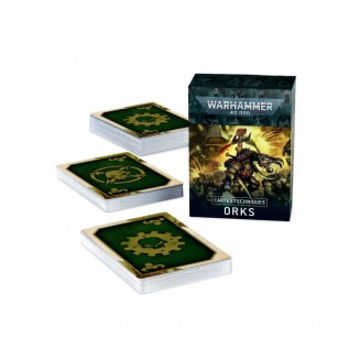 W40K : Datacards - Orks...