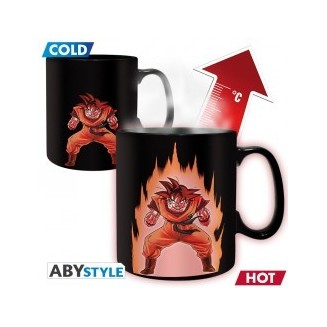 DRAGON BALL - Mug Heat Change - 460 ml - DBZ/ Goku