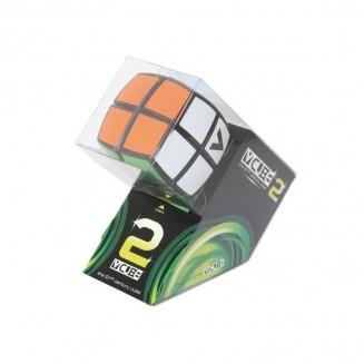 V-CUBE- Cube 2x2 Bombé BLANC