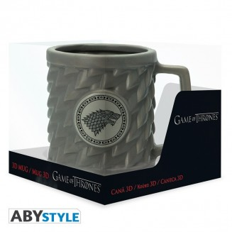 GAME OF THRONES - Mug 3D - STARK