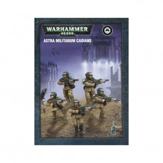 Warhammer 40,000 : Easy to Build - Astra Militarum Cadians