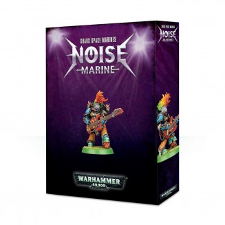 Warhammer 40,000 : Collector Miniatures - Noise Marine (2018)
