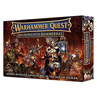 Warhammer Quest Shadows Over Hammerhal (Anglais)